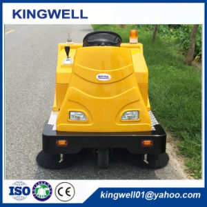 Automatic Road Sweeper for Factory Street Cleaning (KW-1360) pictures & photos