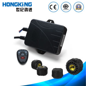 Intelligent Leak Detection Voice Guide TPMS with Extermal Tire Sensor for Four-Wheel Small and Medium Size Vehicle, Car