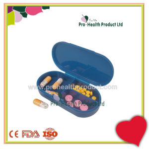 Mini PP Oval Shape Pill Box pictures & photos