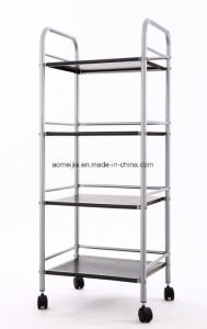 Durable Metal Wire Shelf / Wire Display Racks for Kitchen Practical Use Push Smoothly