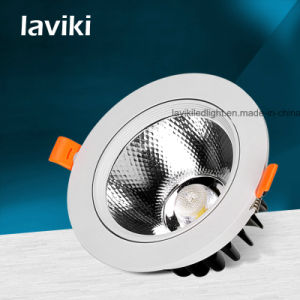 Recessed COB LED Ceiling Spotlight for Jewelry Store & Museum with 3-15W