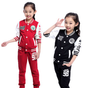 Primary School Sailor Uniform/Customized Kids Tracksuit (A736)