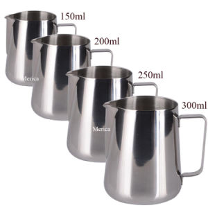Four Sizes Stainless Steel Latte Art Milk Frothing Pitcher pictures & photos