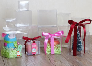 PVC Transparent Box Christmas Small Gift Box