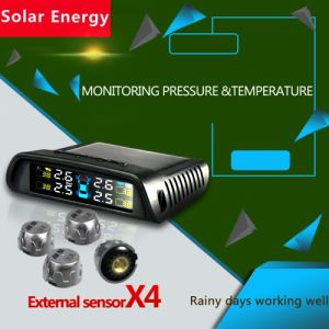 New Car Auto Solar TPMS Tyre Pressure Monitoring System
