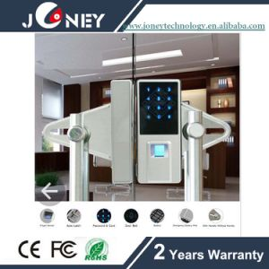Professional Manufacturer Fingerprint Lock for Glass Door 12mm with Handle pictures & photos