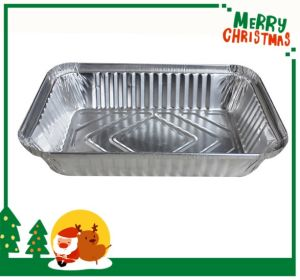 Aluminium Foil for Airline Food Container pictures & photos
