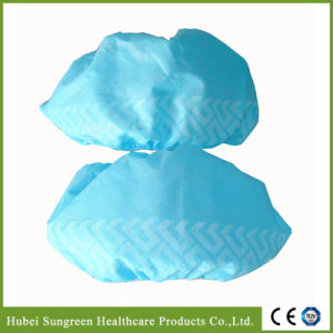 Disposable Non-Woven Shoe Cover, Nonwoven Overshoe pictures & photos