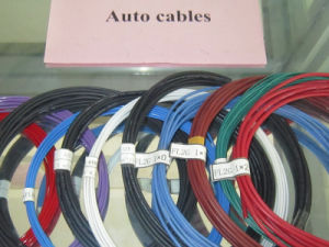 Thick Wall Vechile Wire with Silicone Rubber Insulation pictures & photos