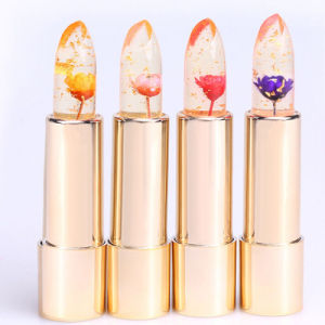 Magic Temperature Change Color Jelly Flower Lipstick pictures & photos