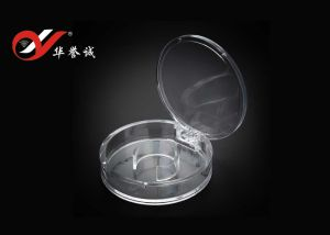 Round Shape Bracelet Display Plastic Box with Cover pictures & photos
