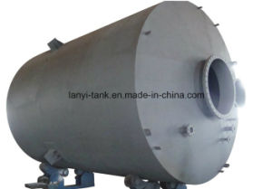ASME Chemical Storage Tank Liner with PE PTFE with Valves and Level Gauge