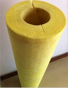 Thermal Insulation Glass Wool Glasswool Pipe pictures & photos