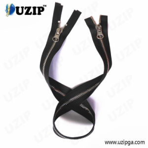 Double Ended Zipper / 2 Way Metal Zippers / Zip Fastener Manufacturers