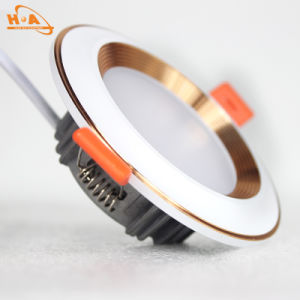 Cheap Good Quality Silver LED Clip Downlight for Bedroom pictures & photos