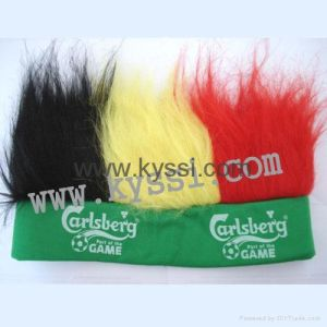 Football Soccer Fans Wigs With Headband