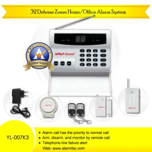 8 Wireless Defense Zone Commercial Intruder Alarm System (YL-007K4) pictures & photos