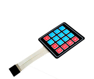 Hot Sell Matrix 16 Keys Membrane Switch Keypad 4X4 Testing Keyboard