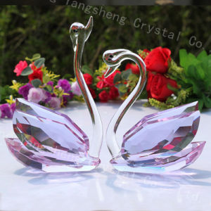 Crystal Wedding Favors Swan Home Decorations Gift