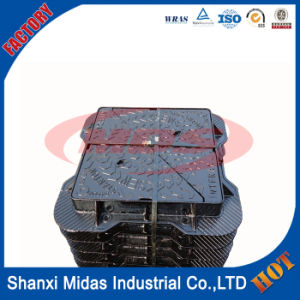 Supply Ductile Iron Double Seal Lockable Manhole Cover with Frame E124 pictures & photos