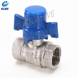 Brass Ball Valve with Nickel Coating