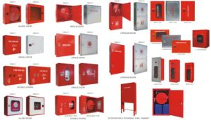 Surface Mounted Fire Hose Reel Cabinet With Single Door And Double  Door/Foam Fire Hose