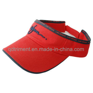 Contrast Binding Sandwich Sport Golf Sun Visor (TMV2030-1) pictures & photos
