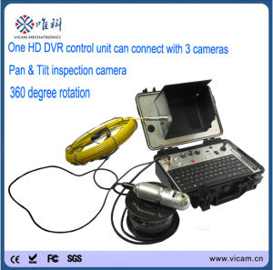360 Degree Pan Tilt Video Inspection Underwater Inspection Camera pictures & photos