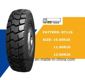 Radial Truck Tyre (10.00r20 11.00r20 12.00r20) , Tyre for Mining