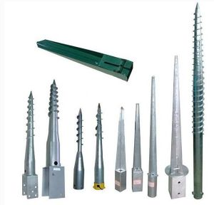 Ce Certification Factory Galvanized Small Screw Ground Peg pictures & photos