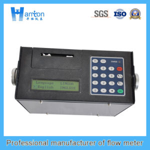 Black Protable Ultrasonic Flow Meter pictures & photos