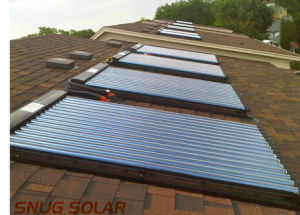 Flat Solar Heating Panels with 1X2m 1X1.5m Size pictures & photos