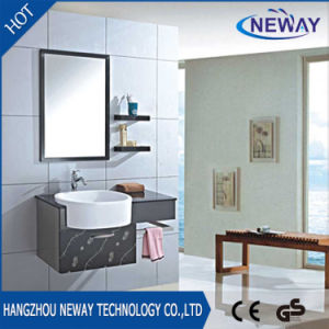 Simple Corner Stainless Steel Pace Bathroom Cabinets With Mirror