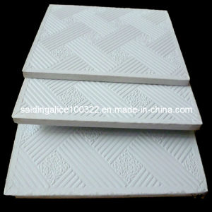 PVC Vinyl Coated Laminated Gypsum Ceiling Tiles (No. 996) pictures & photos