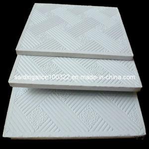 Pvc Vinyl Coated Laminated Gypsum Ceiling Tiles No 996
