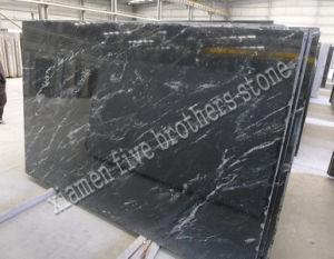 Black White Vein Granite Slab For Tombstone Countertop Flooring Tile
