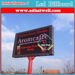 High Rresolution P10 Outdoor LED Billboard Advertising Structure pictures & photos