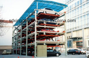 Simple Car Garage 2 Level Parking Lift for 4 Cars pictures & photos