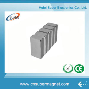 Hottest Sale N40 Neodymium Motor Block Magnets pictures & photos