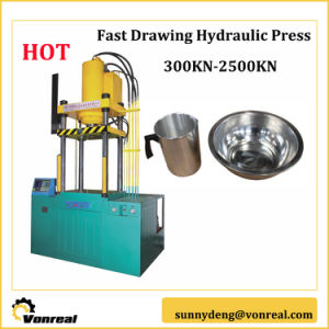Fast Drawing Hydraulic Press of 300kn to 2500kn pictures & photos