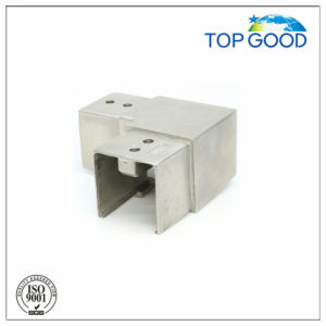 Stainless Steel Square Flexible Horizontal Slot Tube Connector (53170)