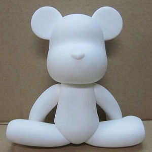 Raising Kids′ Patience and Ability DIY White Unglazed Ceramic (DIY003)