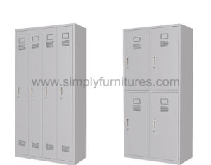 Strong Metal Locker with 4 Doors pictures & photos