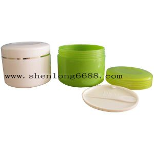 White Cream Jar Lotion Bottle Cosmetic Packaging 250g