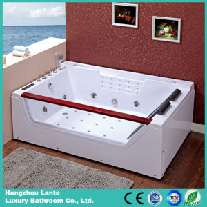 2016 Latest Rectangle Double Acrylic Massage Bathtub (TLP-676) pictures & photos