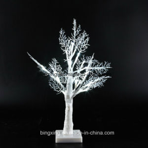 best selling led light battery operated table top christmas decorative tree light