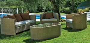 All Weather Stylish Garden Rattan Sofa Set