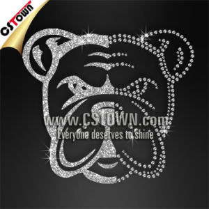 foto de China Bling Bulldog Iron Ons Wholesale Rhinestone Transfers (BUL ...