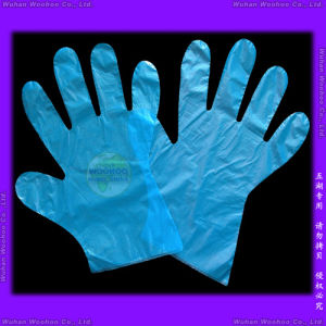 Disposable Food PE Gloves pictures & photos