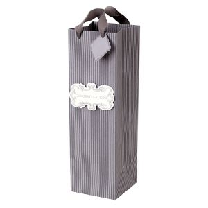 Hot Stamping Paper Wine Bottle Gift Bags, Wine Bottle Paper Bag, Gift Bag, Paper Bag pictures & photos